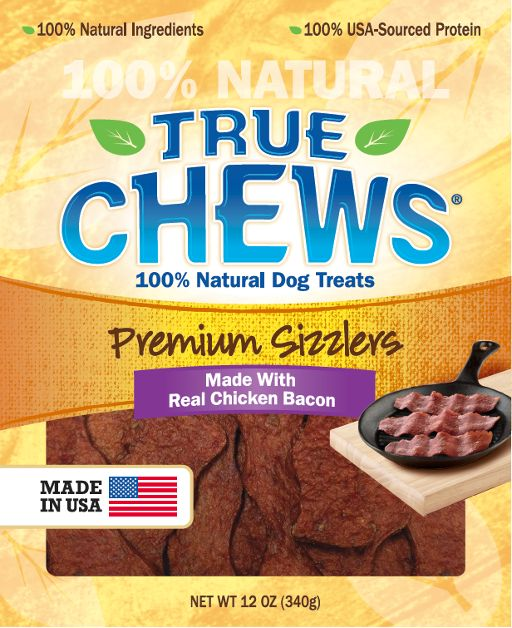 Tyson True Chews Premium Sizzlers Chicken Bacon  Dog Treat