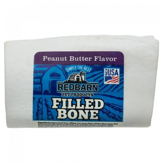 Red Barn Red Barn Filled Bone Peanut Butter Dog Chew