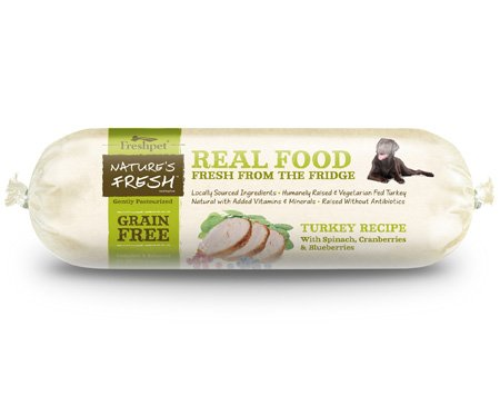 Freshpet Freshpet Nature's Fresh Grain-Free Turkey 2 lb.