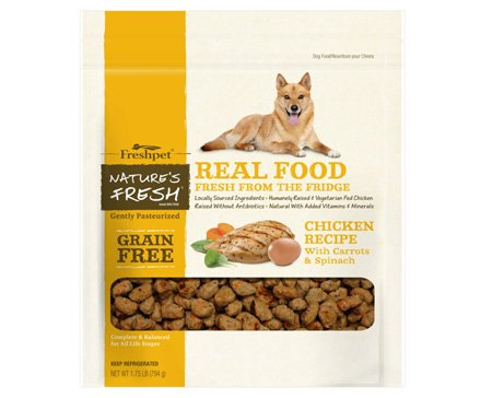 Freshpet Freshpet Nature's Fresh Grain-Free Chicken Recipe 1.75 lb.