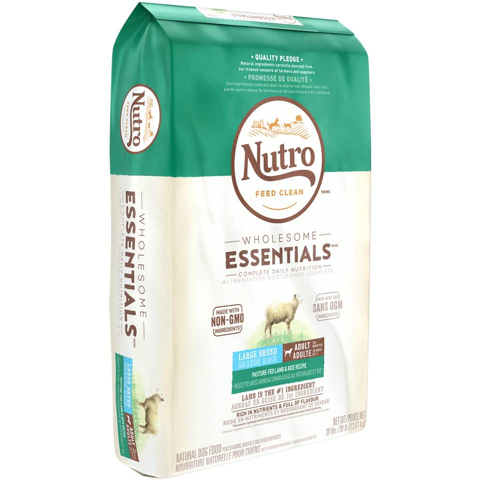 Nutro Nutro Wholesome Essentials Dry Dog Food -Adult Lamb Large Breed 30 lb.
