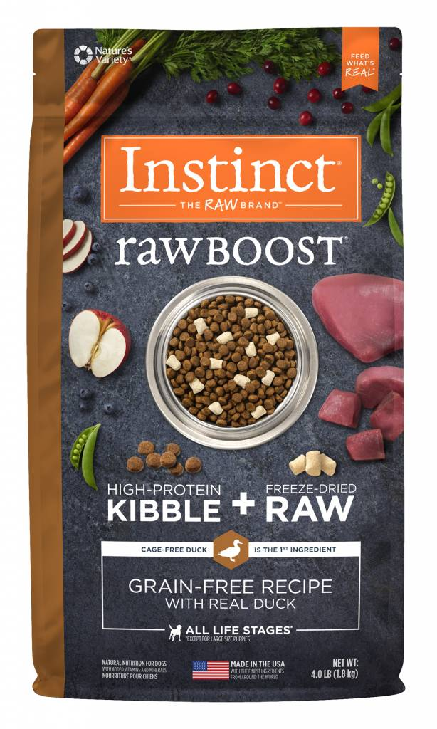 Natures Variety Nature's Variety Instinct Raw Boost Duck Dry Dog Food