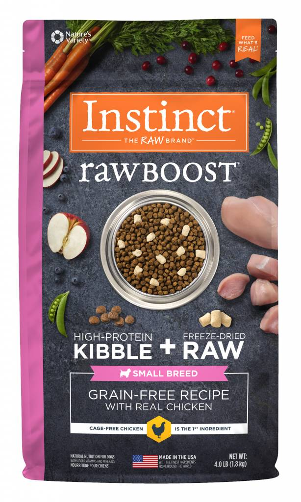 Natures Variety Nature's Variety Instinct Raw Boost Small Breed Chicken Dry Dog Food