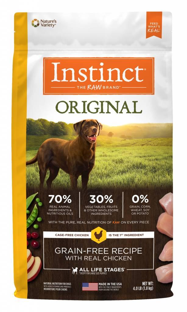 Natures Variety Nature's Variety Instinct Original Chicken Dry Dog Food
