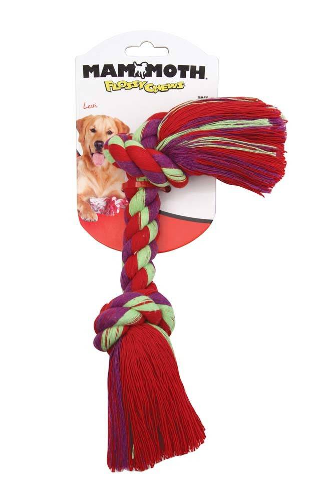 Mammoth Mammoth Color Rope Bone Dog Toy