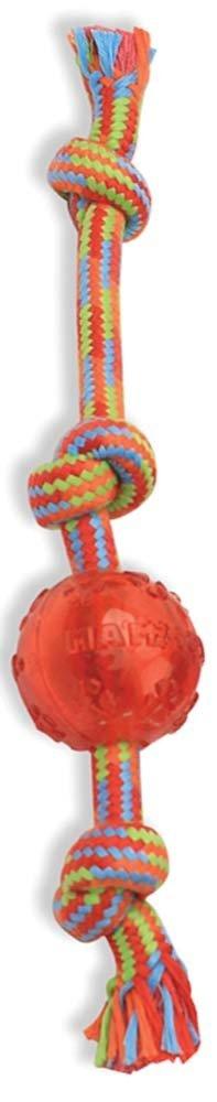 Mammoth Mammoth Braidys Tug with TPR Ball Dog Toy