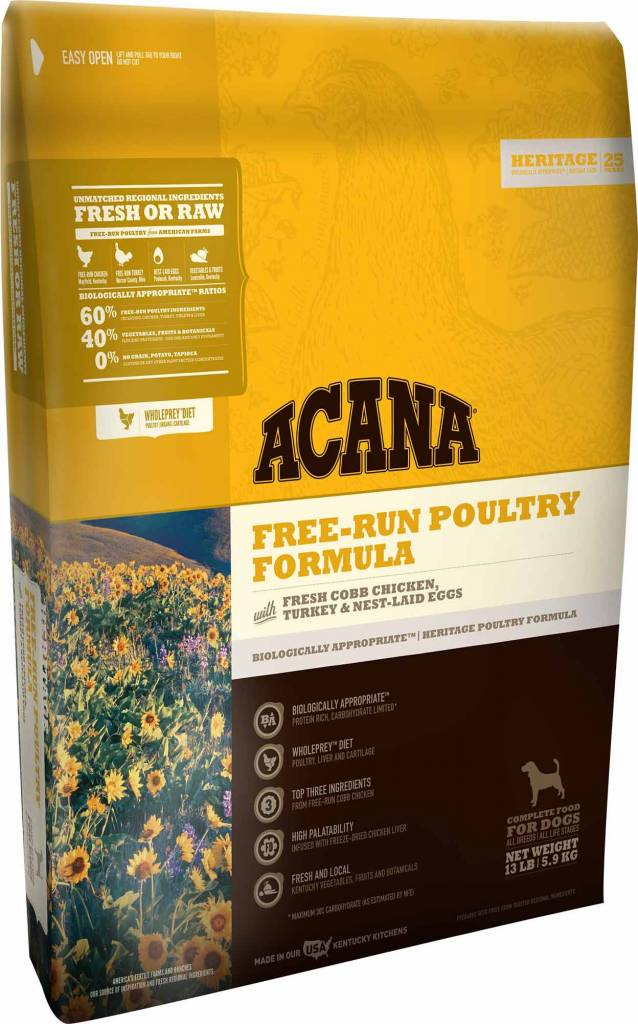 Acana Acana Heritage Free-Run Poultry Dry Dog Food