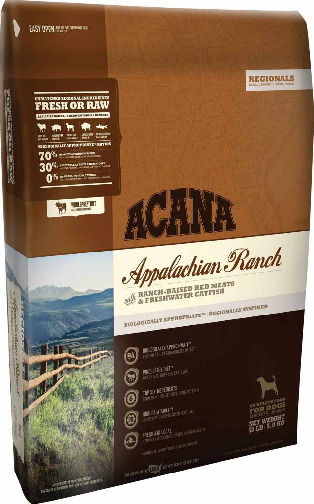 Acana Acana Regionals Appalachian Ranch Dry Dog Food
