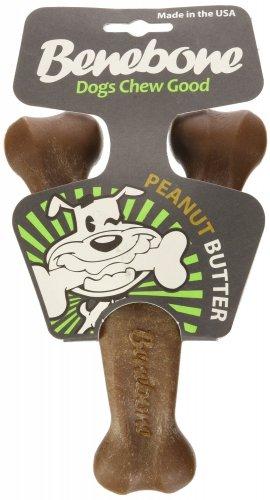 Benebone Benebone Wishbone Peanut Butter Dog Chew