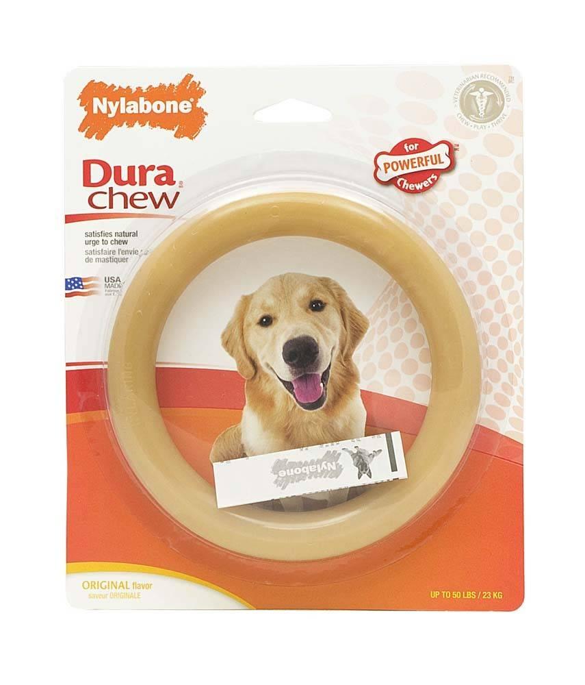 """Nylabone Dura-Chew 6"""" Ring Dog Toy"""