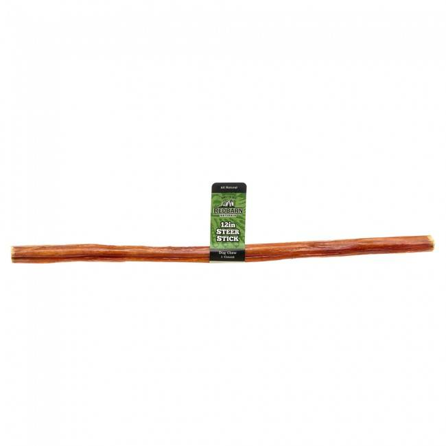 "Red Barn Red Barn Steer Stick 12"" Dog Chew"