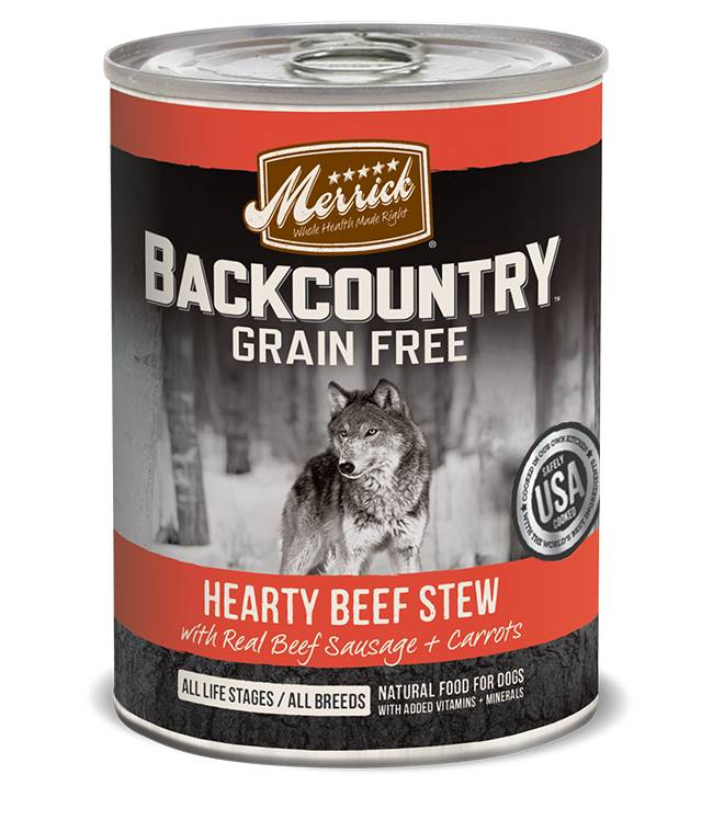 Merrick Merrick Backcountry Campfire Beef Stew Can Dog Food
