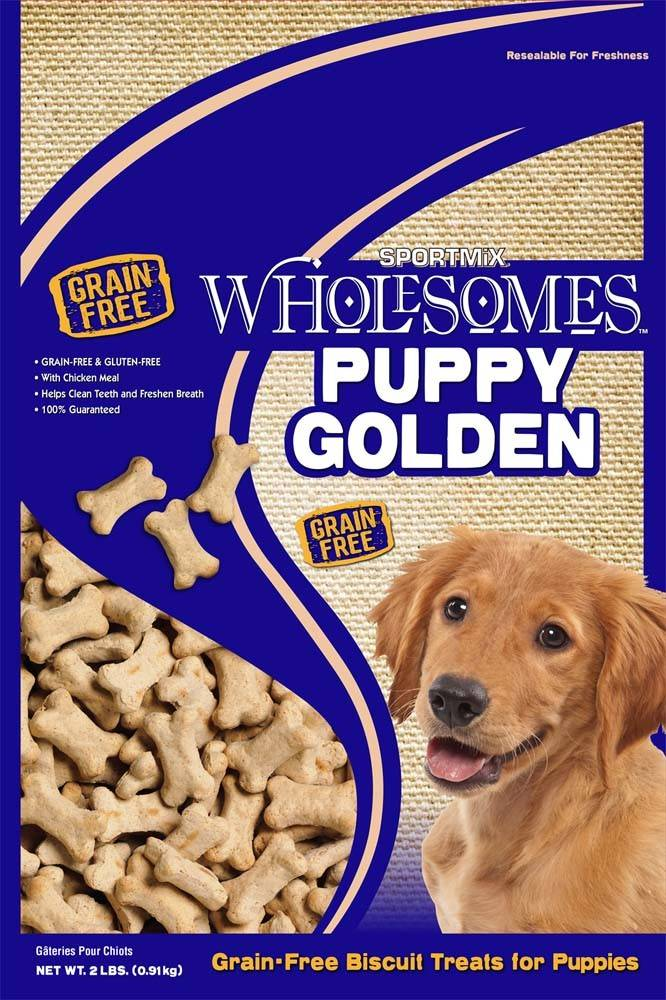 Sportmix Sportmix Wholesomes Premium Select Biscuits Puppy Golden 2 lb.