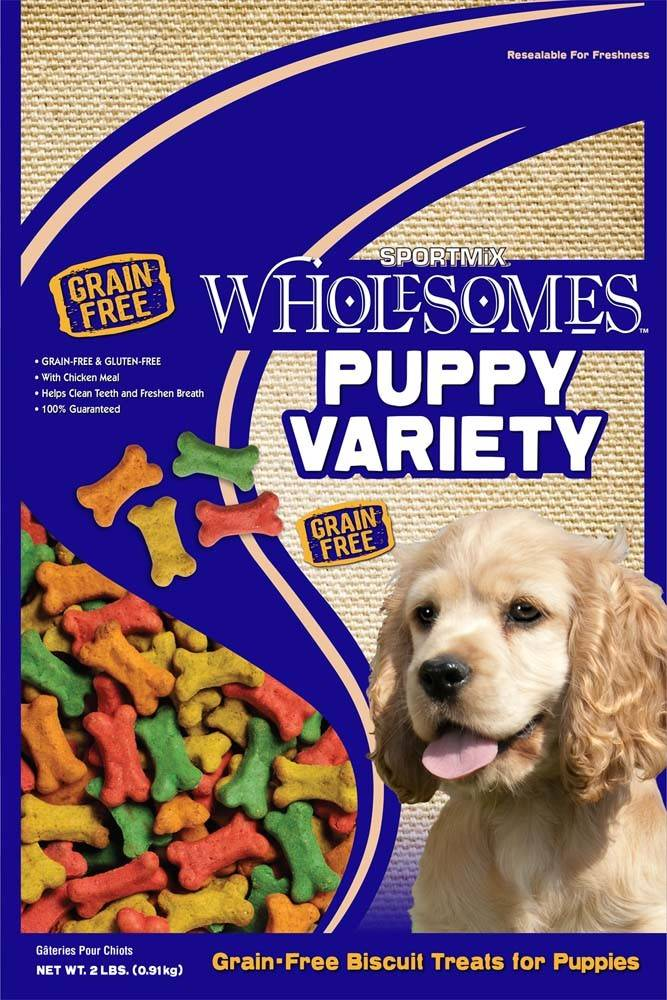 Sportmix Sportmix Wholesomes Premium Select Biscuits Puppy Variety 2 lb.