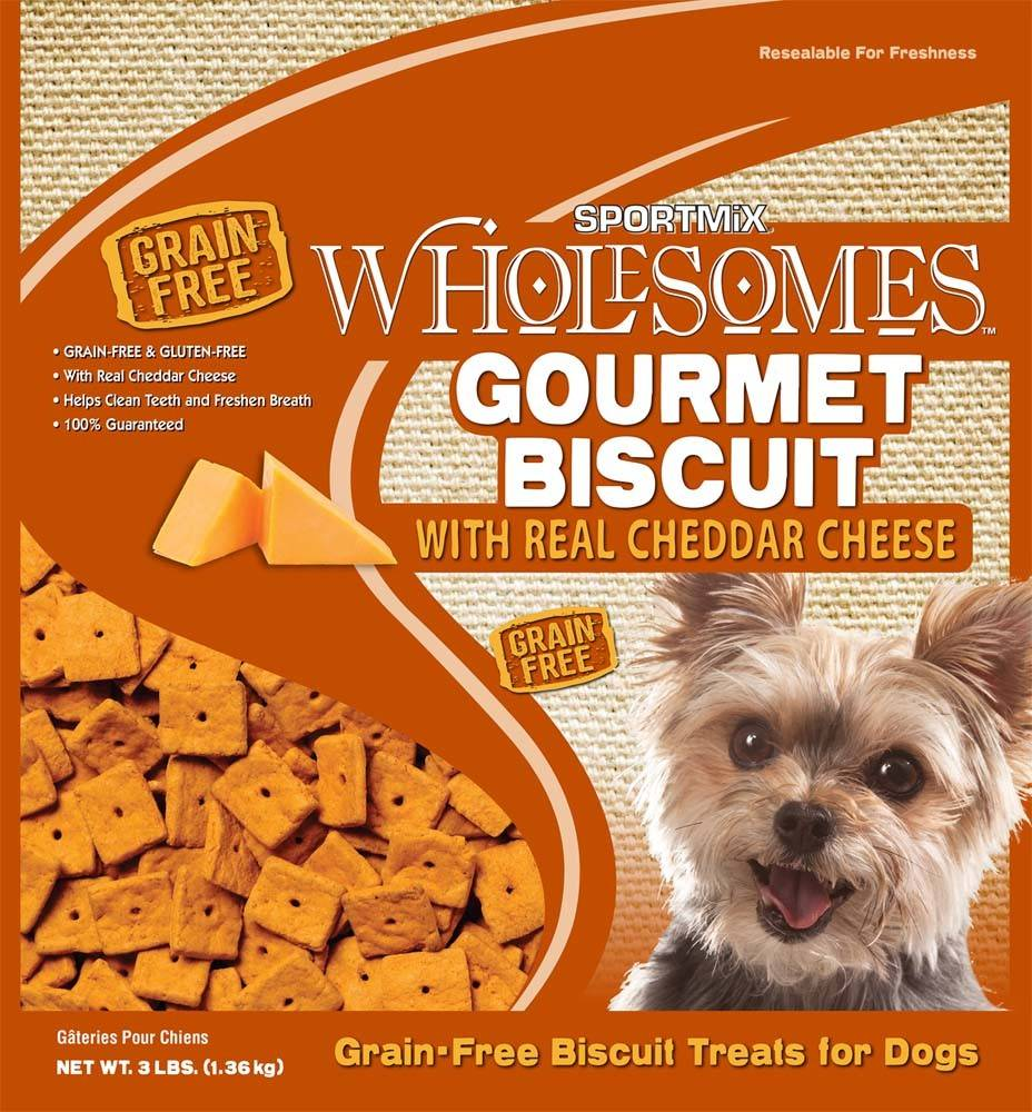 Sportmix Sportmix Wholesomes Premium Select Biscuits Cheese 3lb.