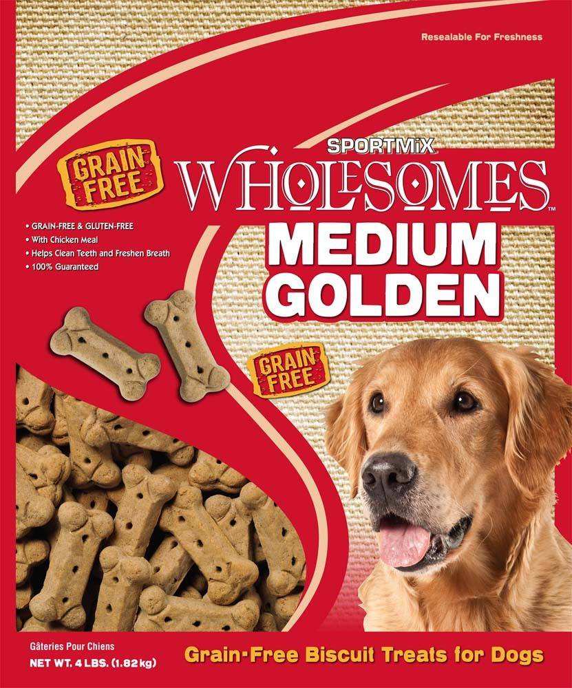 Sportmix Sportmix Wholesomes Biscuits Golden Medium
