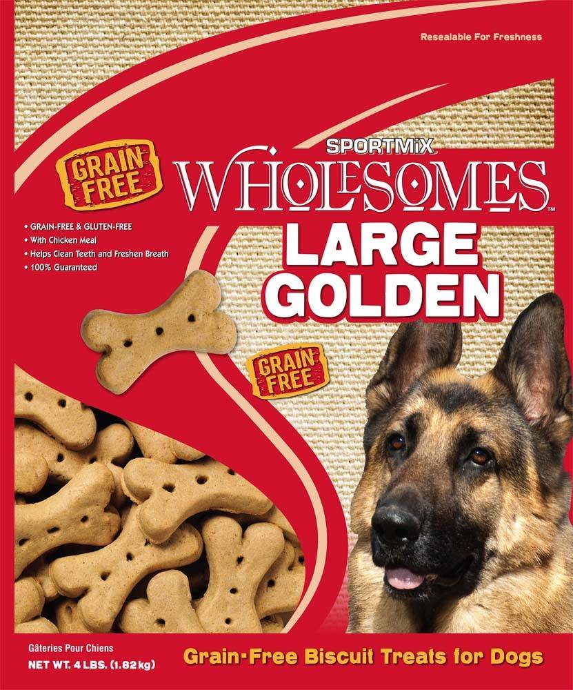 Sportmix Sportmix Wholesomes Biscuits Golden Large