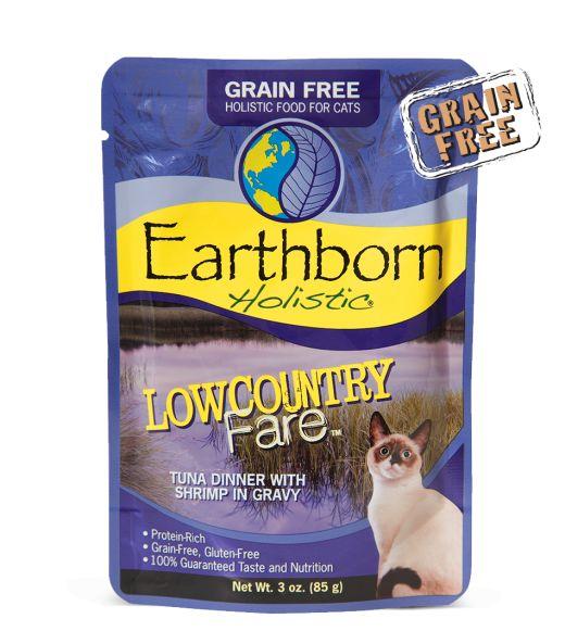 Earthborn Earthborn Cat Grain Free Lowcountry Tuna Pouch 3 oz.