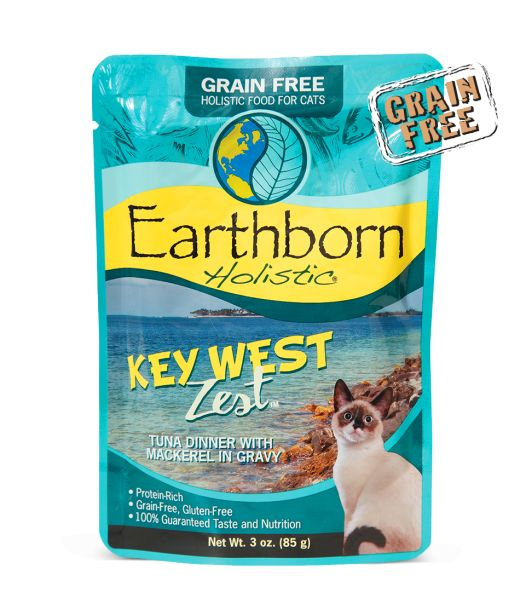 Earthborn Earthborn Cat Grain Free Key West Tuna Pouch 3 oz.