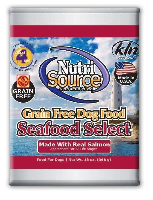 Nutri Source Nutri Source Grain Free Seafood Select Can Dog Food 13 oz