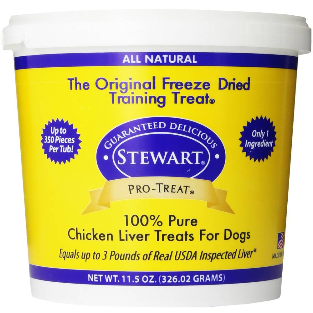 Stewart Pro-Treat Freeze Dried Chicken Liver