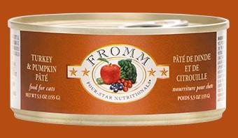 Fromm Fromm Cat Can Turkey & Pumpkin Pate 5.5 oz