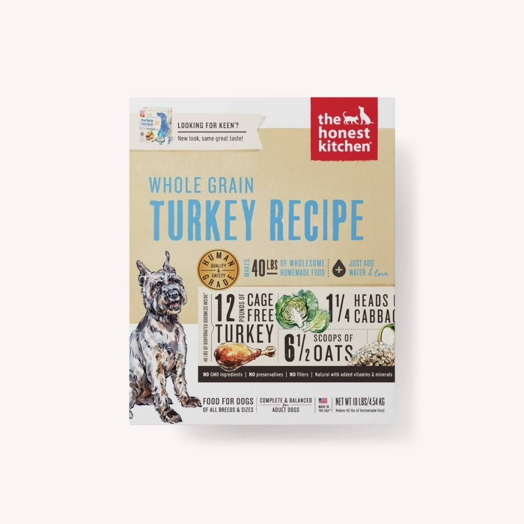 Honest Kitchen Honest Kitchen Keen Whole Grain Turkey Dog Food