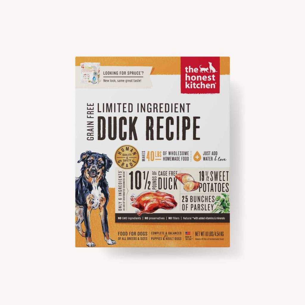 Honest Kitchen Honest Kitchen Spruce LID Duck Dog Food