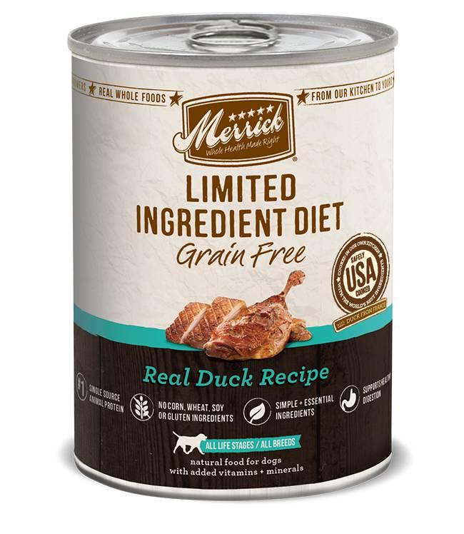 Merrick Merrick LID Can Dog Food Duck 12.7 oz.