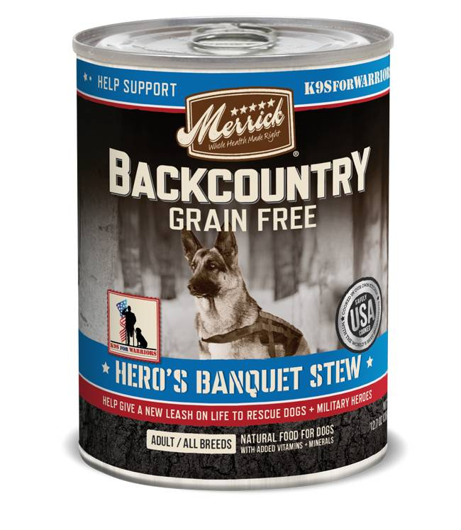 Merrick Merrick Backcountry Hero's Banquet Can Dog Food