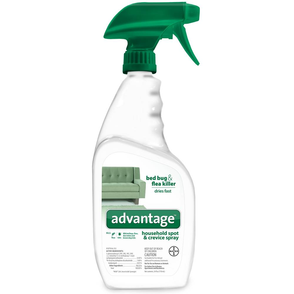 Bayer Advantage Household Spot Crevice Spray