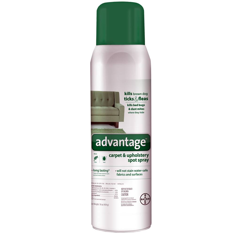 Bayer Advantage Carpet Upholstery Spot Spray