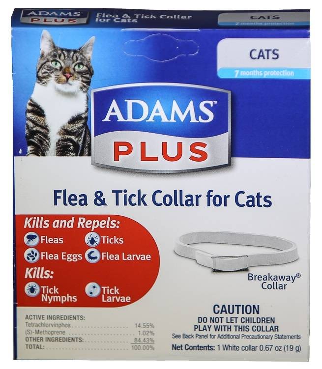 Farnam Adams Plus BreakAway Flea Collar Cat