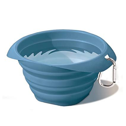 Kurgo Kurgo Collaps-A-Bowl Blue