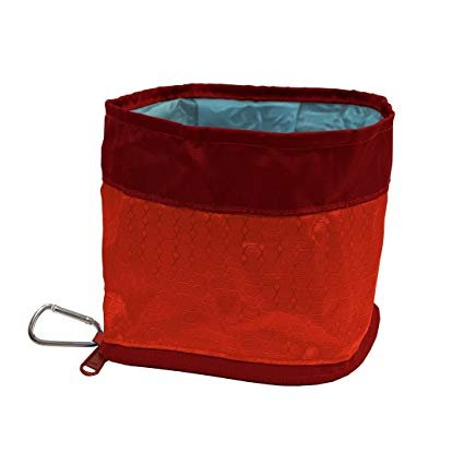 Kurgo Kurgo Zippy Bowl Barn Red