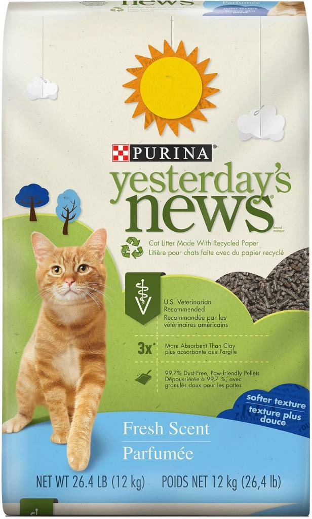 Yesterday's News Yesterday's News Soft Scented Cat Litter