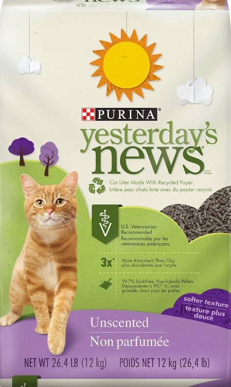 Yesterday's News Yesterday's News Soft Unscented Cat Litter