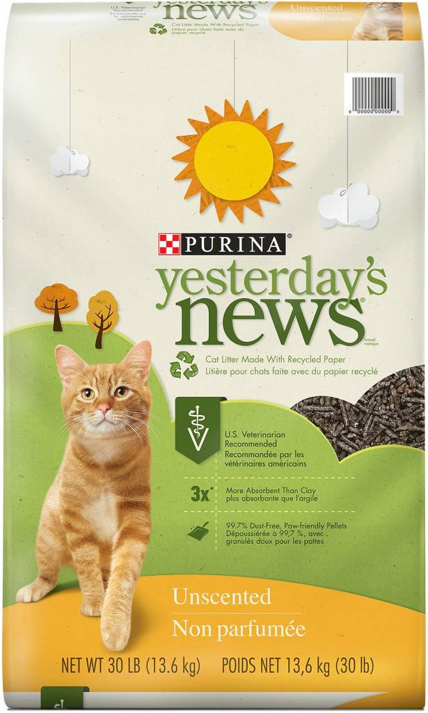 Yesterday's News Yesterday's News Cat Litter