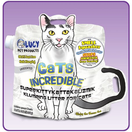 Lucy Pet Cats Incredible Unscented Cat Litter Hawthorne