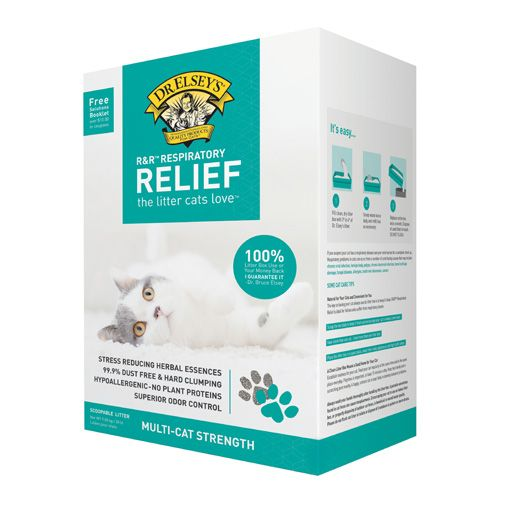 Dr. Elsey's Dr. Elsey's Respiratory Relief Clumping Clay Cat Litter 20 lb.