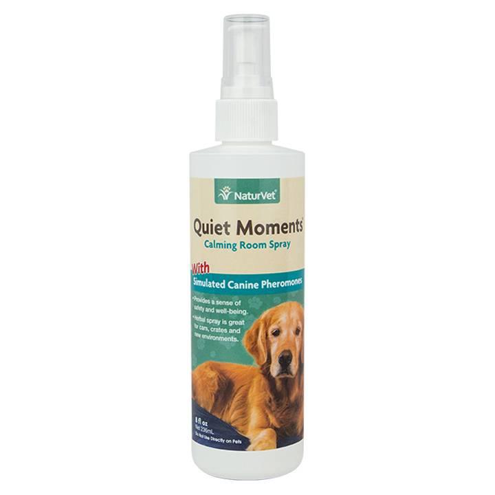NaturVet NaturVet Quiet Moments Herbal Calming Spray - Canine 8 oz