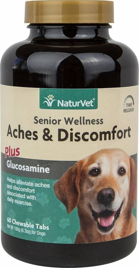NaturVet NaturVet Senior Aches & Discomfort Tablets  60 ct