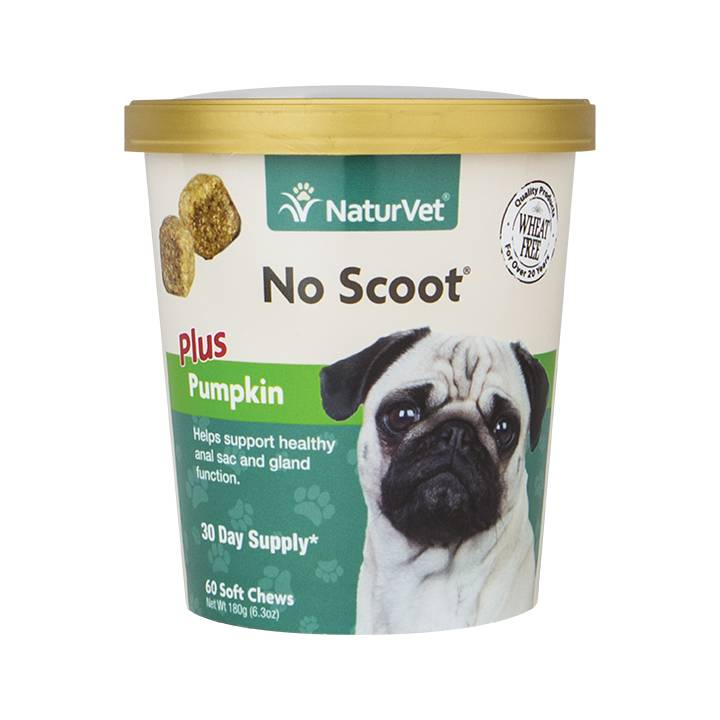 NaturVet NaturVet No Scoot Plus Pumpkin Soft Chew 60 ct