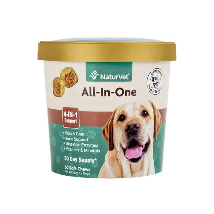 NaturVet NaturVet All-in-One Soft Chew 60 ct
