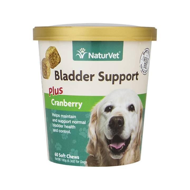 NaturVet NaturVet Bladder Support Plus Cranberry Soft Chew 60 ct