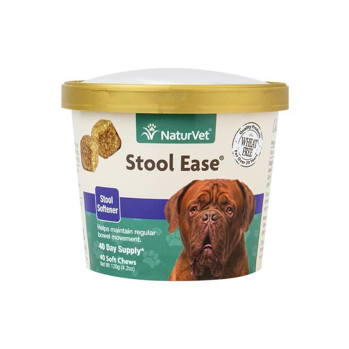 NaturVet NaturVet Stool Ease Stool Softener Soft Chew 40 ct