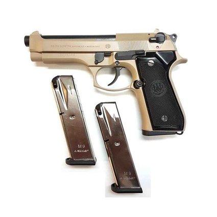 USED BERETTA M92F 9MM 3 MAGS