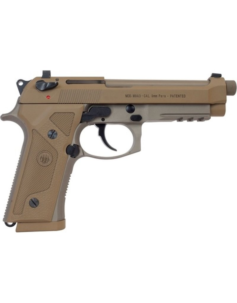 USED BERETTA M9A3 9MM W/ 3 MAGS