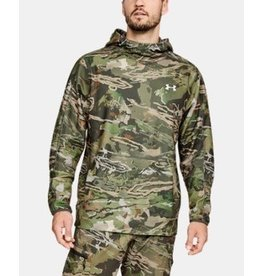 UNDER ARMOUR UNDER ARMOUR OFF GRID FLEECE CAMO POPOVER