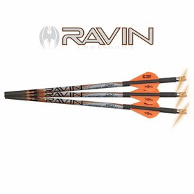 RAVIN CROSSBOWS RAVIN LIGHTED ARROWS W/ ORANGE NOCKS .001 3PK
